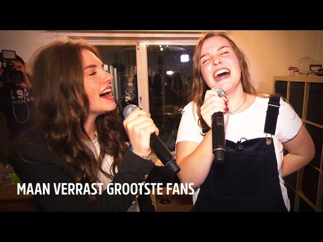 Maan laat fans huilen tijdens intiem huiskamerconcert | De Beste Wensen Van 538