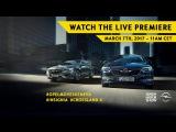 Geneva Motor Show 2017  Opel #Insignia world premiere  March 7. 1100 CET