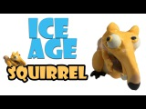 ICE AGE 3  How to make Squirrel  BunBum's PlaydohClay Tutorial video