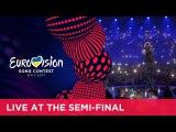 Salvador Sobral - Amar Pelos Dois (Portugal) LIVE at the first Semi-Final