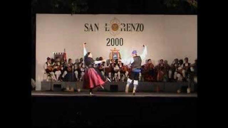 JOTA DE CALANDA, bailan: Mamen y Garvín