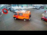 ДТП в Серпухове. Врезался у светофора... 14 января 2017г.