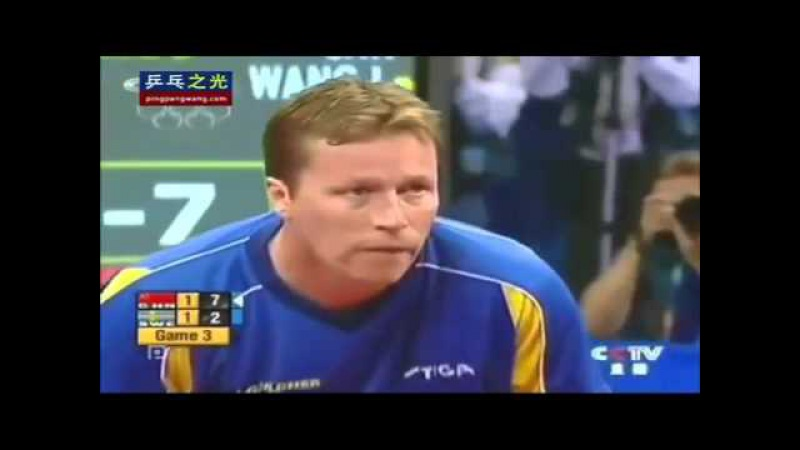 Olympic2004 Wang Liqin vs Jan Ove Waldner