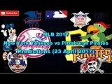 MLB The Show 17 New York Yankees vs Pittsburgh Pirates Predictions #MLB2017 (23 April 2017)