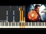 Michael Giacchino - Main Theme (Piano Tutorial Doctor Strange)