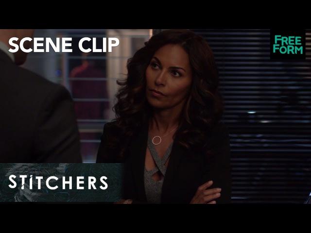 Stitchers Season 3 Episode 9 Fisher And Maggie Talk Freeform смотреть онлайн без регистрации