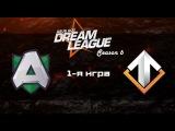 Alliance vs Escape #1 (bo3) | DreamLeague Season 6, 25.11.16