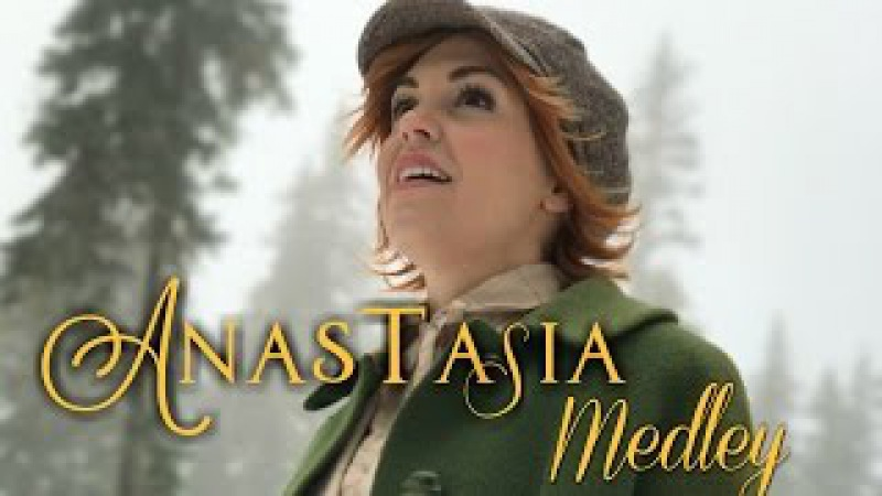 Anastasia in REAL LIFE - Once Upon a December Journey to the Past - Evynne Hollens