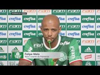 Entrevista do Felipe Melo pelo Palmeiras
