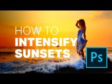 Quick Tip How to INTENSIFY Sunset Photos in PHOTOSHOP (ONE Layer Only!)