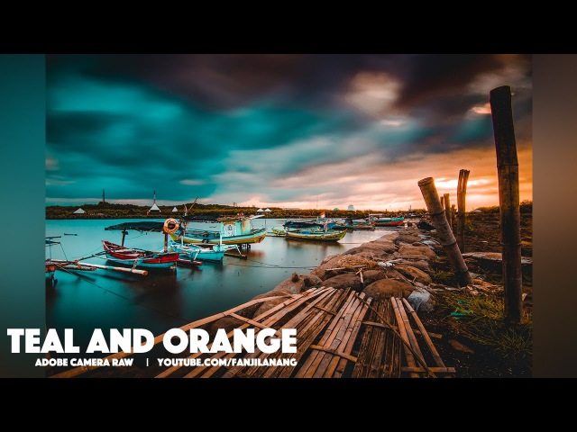 Teal and Orange with Adobe Camera Raw | Photoshop CC Tutorial