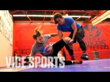Training with USA's No.1 Ranked Female Wrestler Adeline Gray