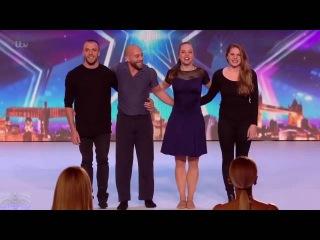 Britain's Got Talent. Потрясающий танец со спецэффектами шокировал британское шоу талант...