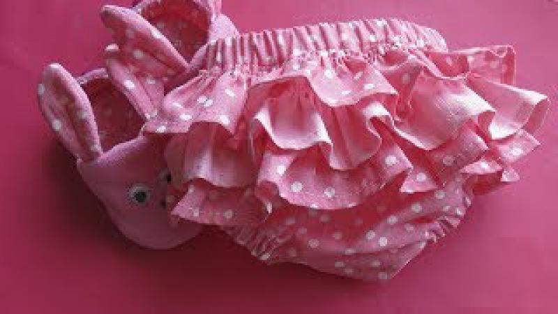 Самые модные детские трусики на памперс Трусы своими руками с SvGasporovich Детская одежда
