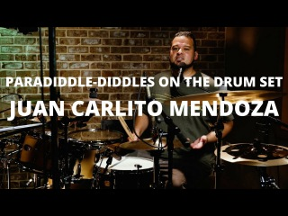 Meinl Cymbals - Juan Carlito Mendoza - Paradiddle-Diddles on the Drum Set