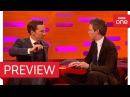 Eddie Redmayne and Benedict Cumberbatch perform magic! - The Graham Norton Show 2016 - BBC One