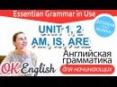 Практика к Unit 1 2 Глагол BE в Present IS ARE в утверждениях вопроса и отрицаниях