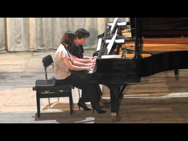 Концерт фортепианного ансамбля. 26.05.2014