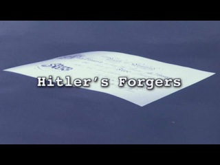 Фальшивомонетчики Гитлера / Hitler's Forgers (2013) - Видео Dailymotion
