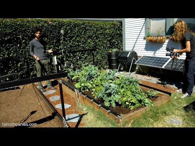 FarmBot open source backyard robot for a fully automated garden