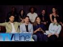 Supergirl Cast Interview Singing Comic Con 2017 TVLine