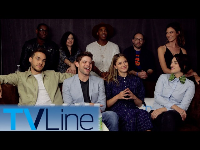 Supergirl Cast Interview Singing! | Comic-Con 2017 | TVLine