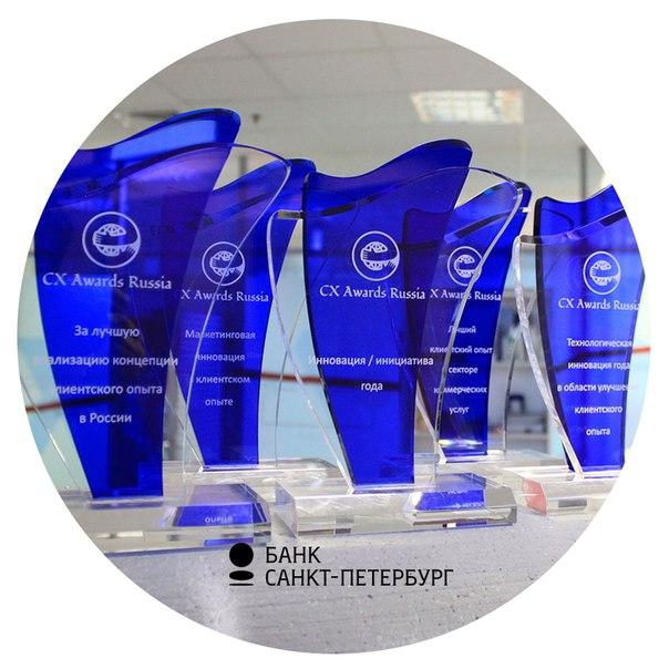 Digital-проекты Банка «Санкт-Петербург» завоевали награды в четырех но
