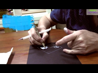 Как нарисовать комикс… с помощью отпечатков пальцев