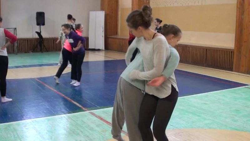 Фестиваль свободного танца Белая Обезьяна .Зимняя версия.