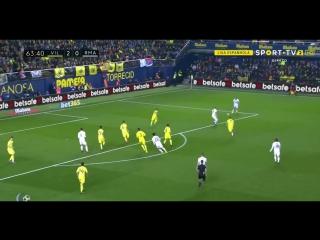 Вильярреал 2:1 Реал. Гол Бэйла