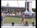 Наталья Меньшенина прыгает с шестом в Линьяно 2011 год и Турине 2013 год