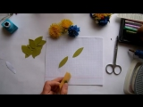 Мастер_класс - #цветы #одуванчики #васильки #из_фоамирана на резинке для волос