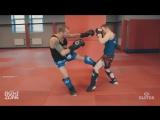 Андрей Басынин. Muay Thai. Техника удара лоу кик.