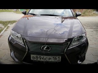 Тест CERAMIC PRO LIGHT на Lexus ES 250