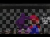 (FNAF SFM) Марио попал фнаф 2