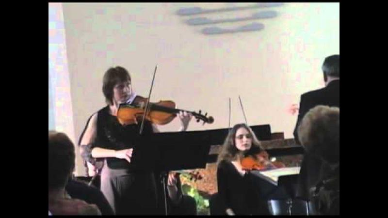 Г. Ф. Телеман, концерт для альта и камерного оркестра