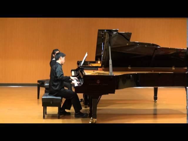 進擊的巨人Shingeki no Kyojin OP2 - 自由之翼 Jiyuu no Tsubasa 雙鋼琴 (鋼琴1: 張羣禾 鋼琴2: 陳燕如 )