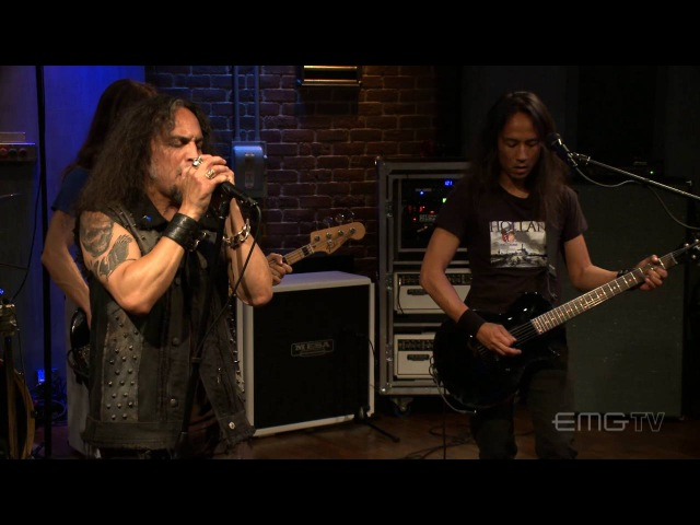 Death Angel plays Father of Lies live on EMGtv