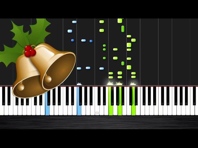 Carol Of The Bells - Piano Tutorial - Nicholas Steinbach Arrangement