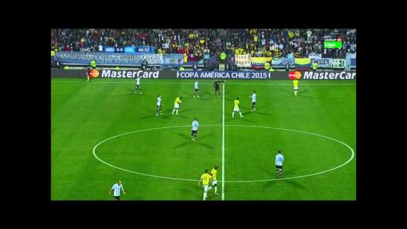Argentina 0-0 Colombia (5-4 p.) | 1/4 de final | Copa América 2015 | HD 720p