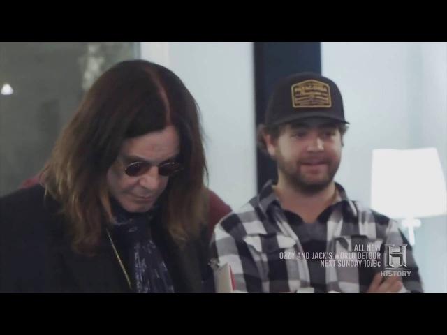 Ozzy Talks About Randy Rhoads And Hears Unheard Crazy Train Master Tape 2016