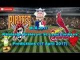 MLB The Show 17 Pittsburgh Pirates vs. St. Louis Cardinals Predictions #MLB2017 (17 April 2017)