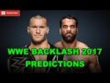 WWE Backlash 2017 WWE Championship Randy Orton vs. Jinder Mahal Predictions WWE 2K17