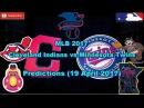 MLB The Show 17 Cleveland Indians vs Minnesota Twins Predictions #MLB2017 (19 April 2017)