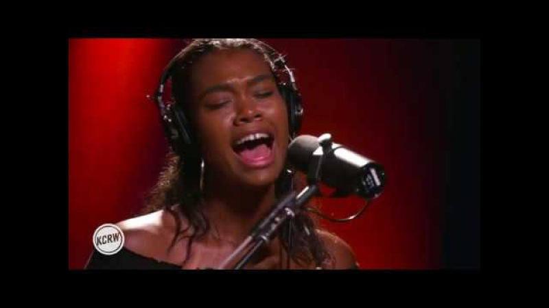 Amber Mark performing Love Me Right Live on KCRW