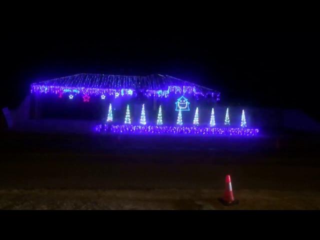 Christmas Light Show to Music Australia Hocus Pocus Heres Johnny