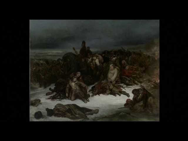 Lecture 9, Find the Hero Ary Scheffers The Retreat of Napoleons Army from Russia in 1812 (1826)