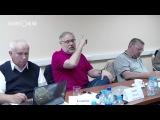 М. Хазин, А. Девятов, М. Делягин, В. Зазнобин, А. Бахтияров на одной площадке.  20.06.2017