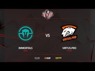Virtus.pro G2A vs Immortals, map 2 mirage, PGL Major Kraków 2017