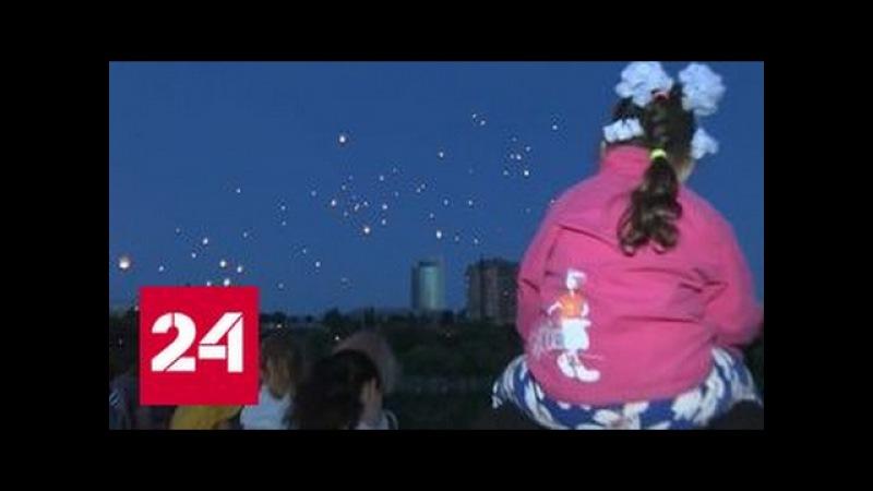 Ангелы Донбасса: в Донецке прошла акция в память о погибших на войне детях